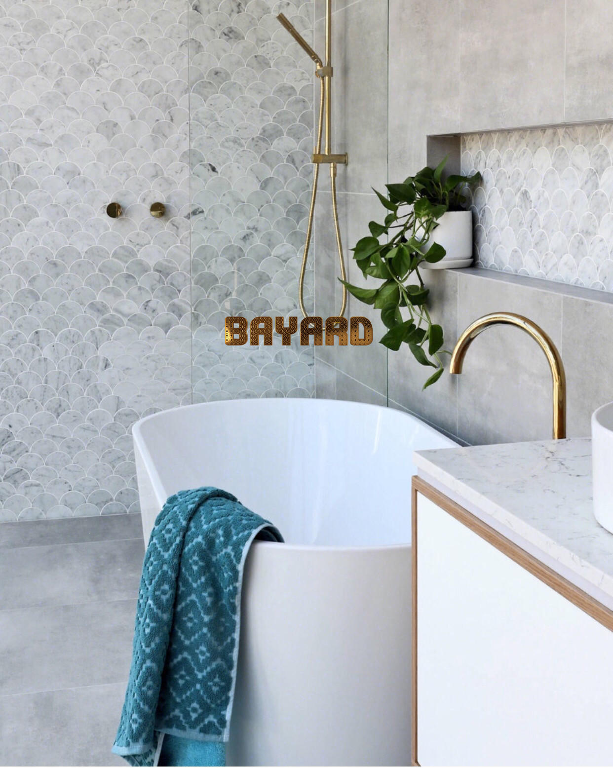 hotel bathroom shower room wall