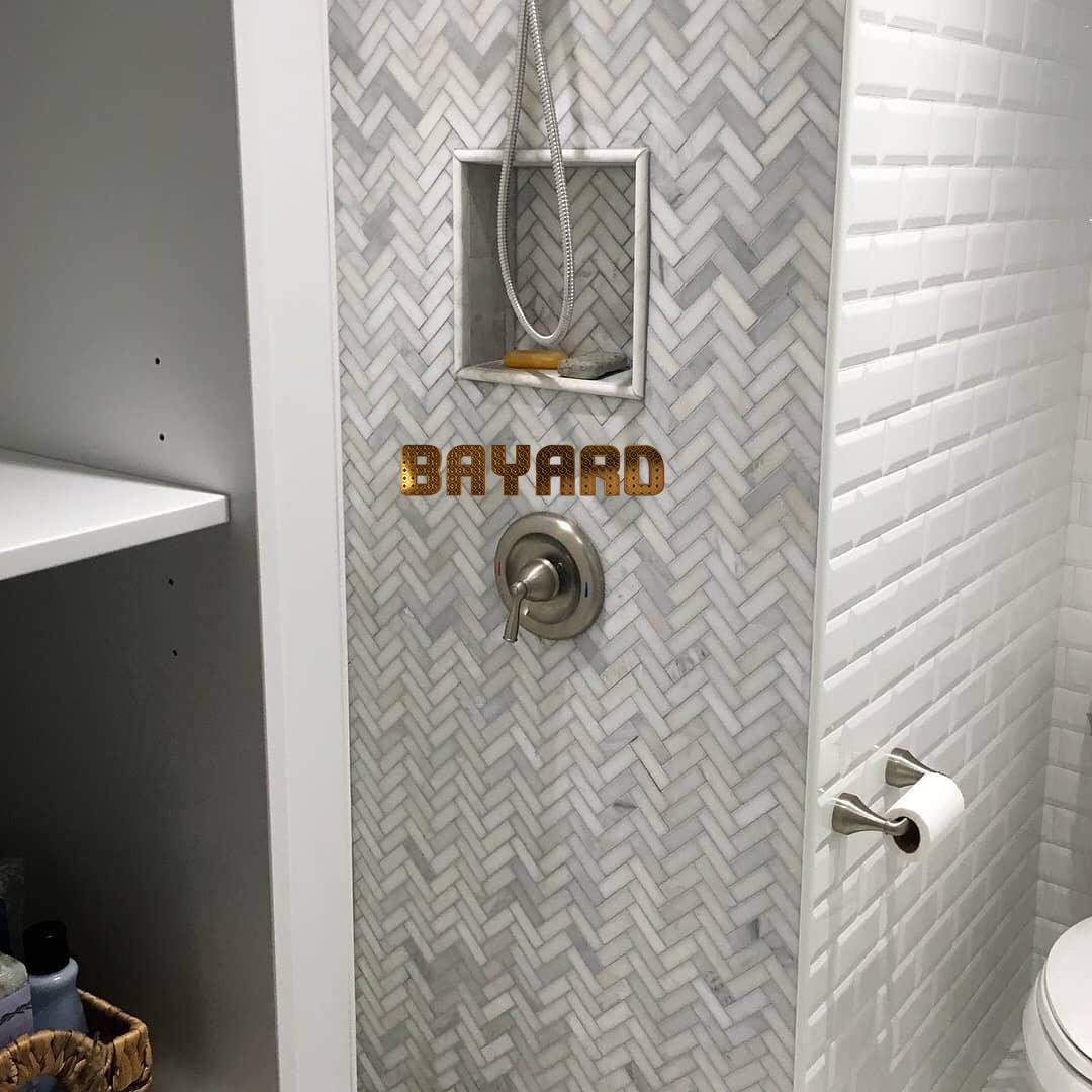 shower place wall