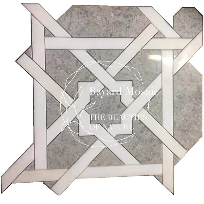Water Jet mosaic tiles