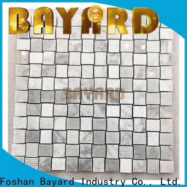 Bayard new arrival stone mosaic supplier for TV wall