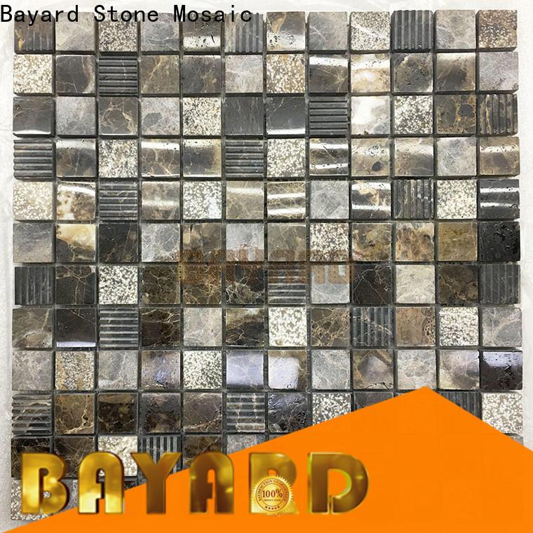 high-end mosaic bathroom floor tile marfil supplier for swimming pool