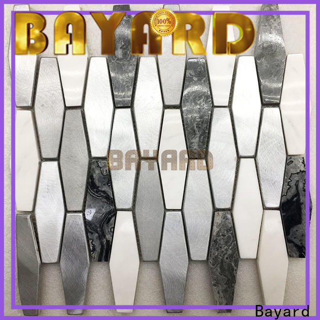 upscale mosaic tiles craft mix for wholesale for hotel lobby