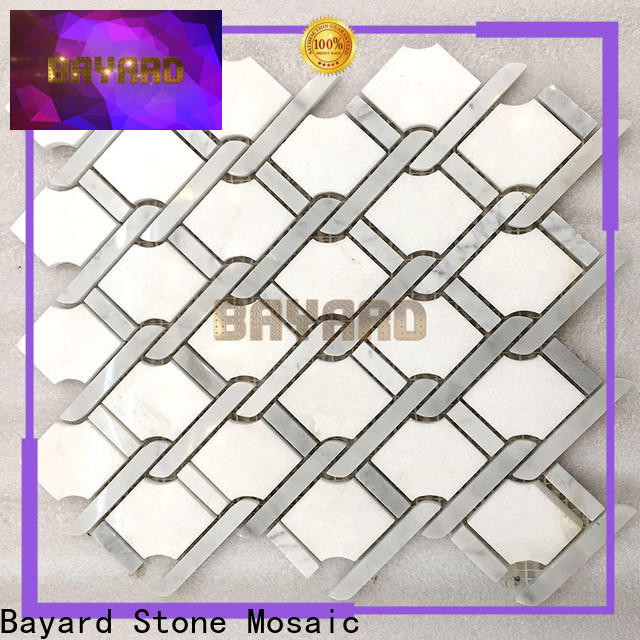 Bayard spanish grey mosaic floor tiles dropshipping for bathroom