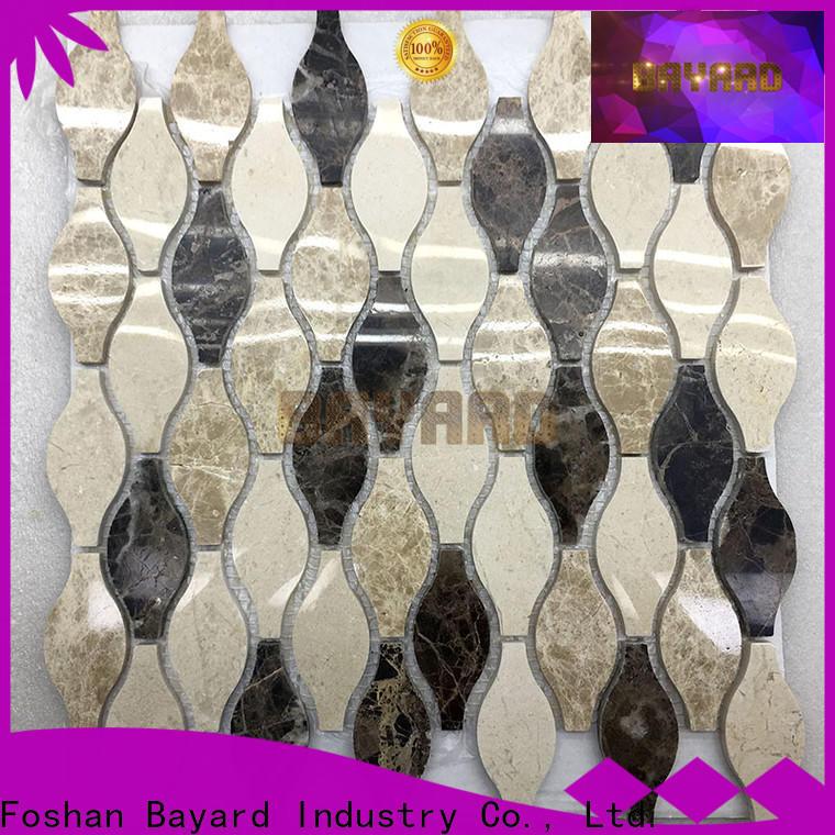 Bayard floor outdoor mosaic tiles supplier for foundation