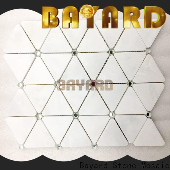 Bayard widely used pebble mosaic tile owner for wall decoration