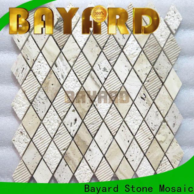 Bayard mosaic marble mosaic wall tile for hotel lobby