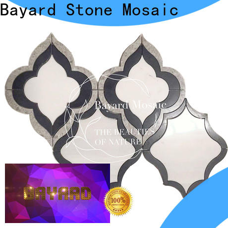 Bayard affordable waterjet mosaic supplier for bathroom