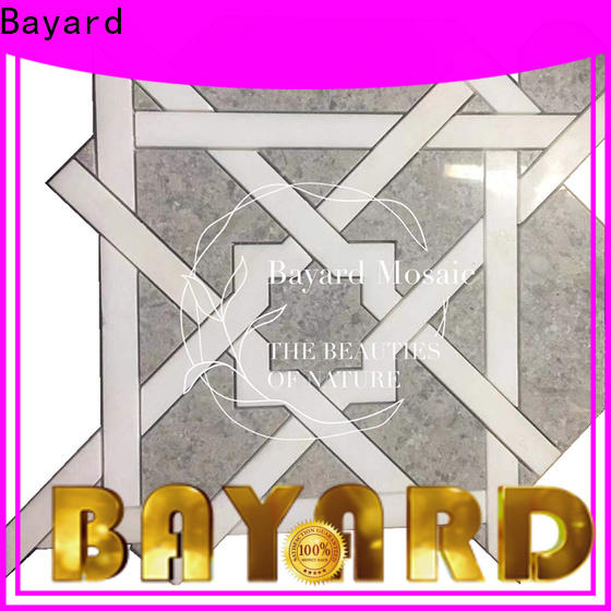 Bayard hot-sale waterjet mosaic tile in china for decoration