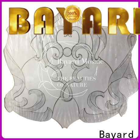 Bayard tiles waterjet mosaic tile supplier for hotel lobby