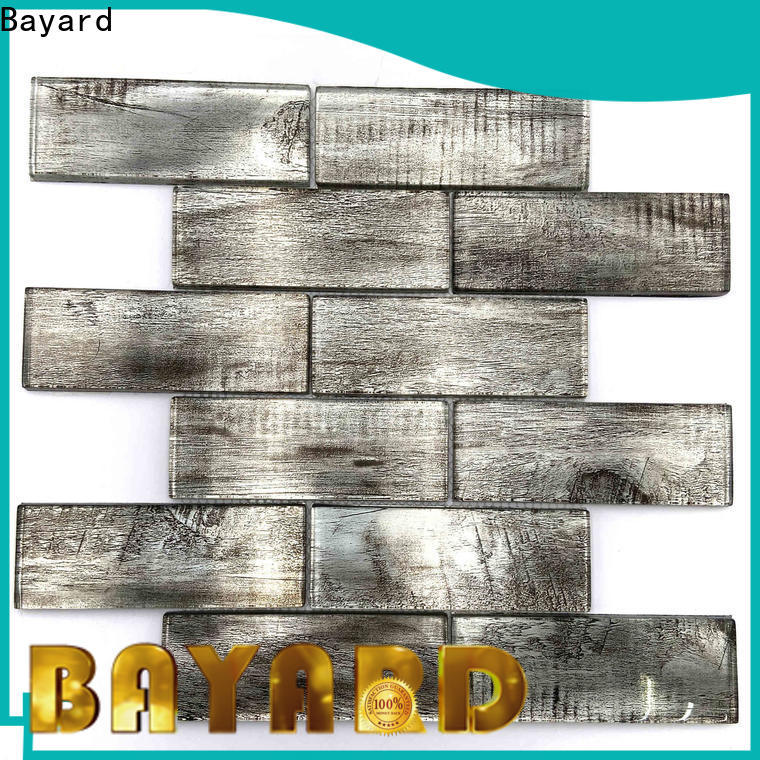 Bayard good-looking glass mosaic tile backsplash factory price for hotel lobby