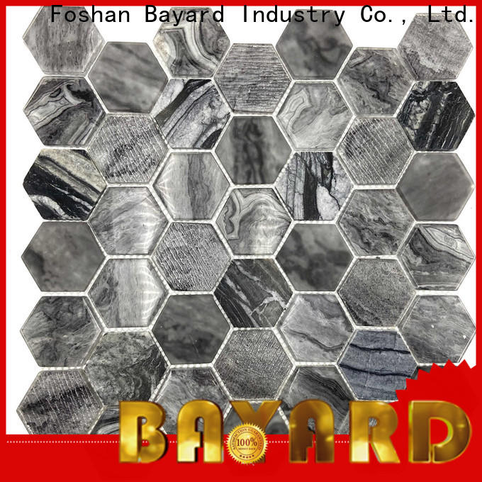 Bayard high-end glass mosaic tile factory for foundation