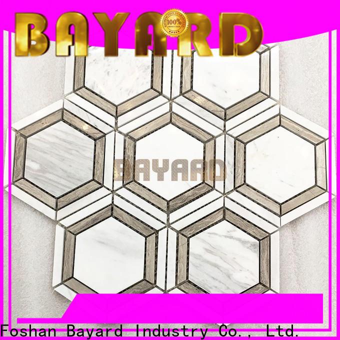 Bayard natural dark grey mosaic tiles owner for wall decoration