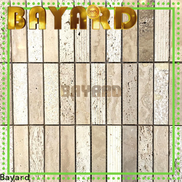 durable mixed mosaic tiles beige factory price for decoration