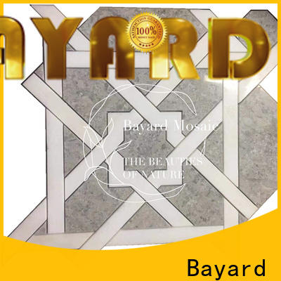 Bayard natural waterjet mosaic tile for wholesale for bathroom