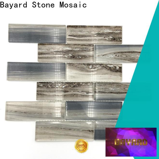 Bayard black blue glass mosaic tile newly for bathroom
