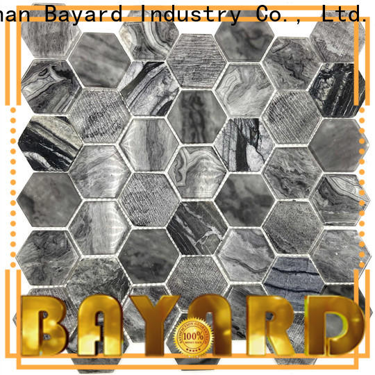 Bayard high-end glass mosaic tile in china for hotel lobby