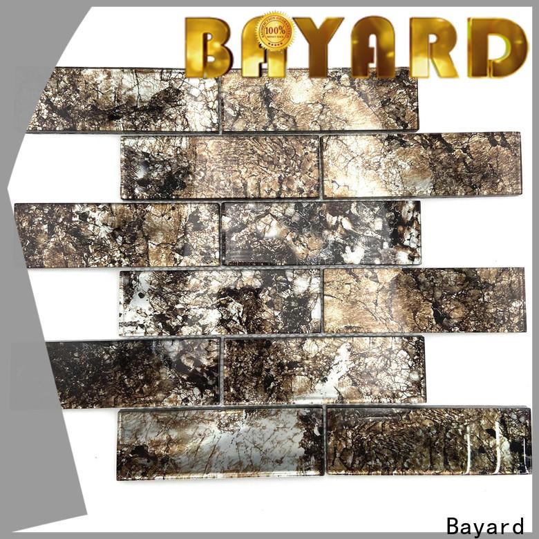 Bayard high-end glass mosaic tile newly for foundation