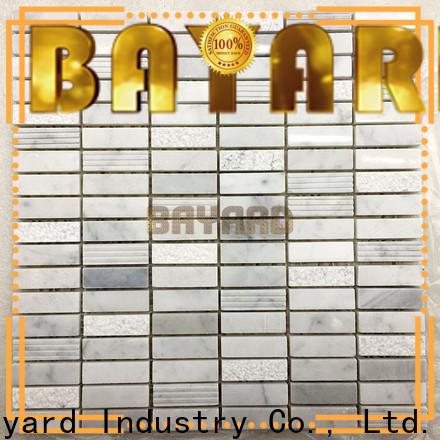 Bayard natural mosaic tile backsplash factory for hotel