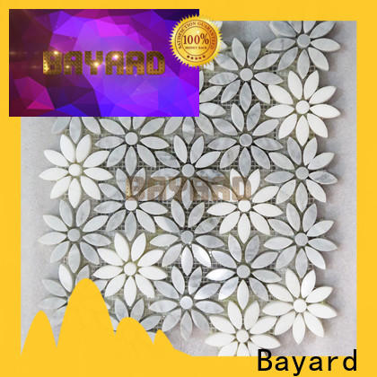 Bayard glossy mosaic tile splashback in china for bathroom