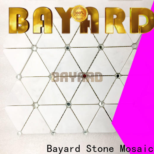 Bayard tile rectangle mosaic tiles supplier for bathroom