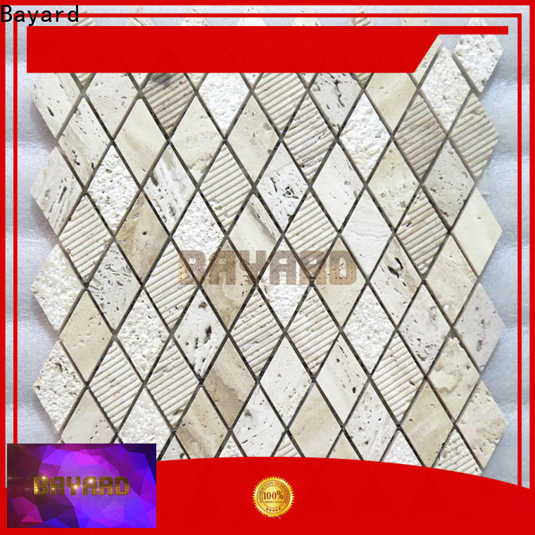 chic travertine mosaic wall tile mosaic vendor for foundation