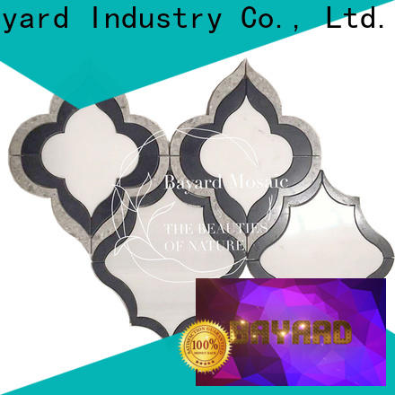 Bayard new arrival waterjet marble tile for wholesale for hotel lobby