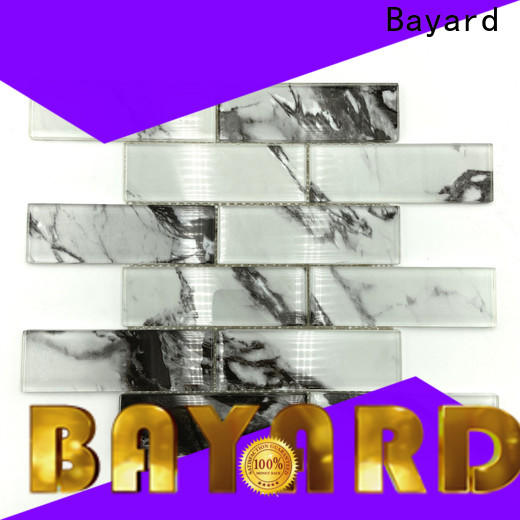 Bayard high quality glass mosaic tile sheets factory price for foundation