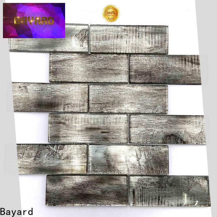 Bayard good-looking glass mosaic tile backsplash for wholesale for hotel lobby