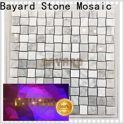 Bayard high standards mosaic tile kitchen backsplash