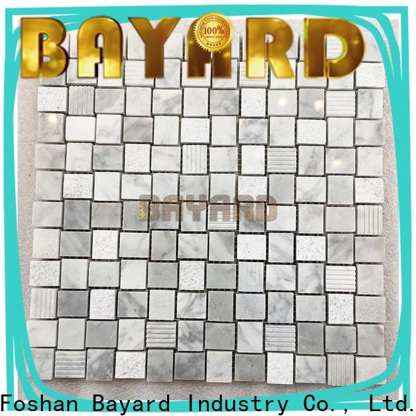 hot-sale marble mosaic tile emperador factory price for hotel