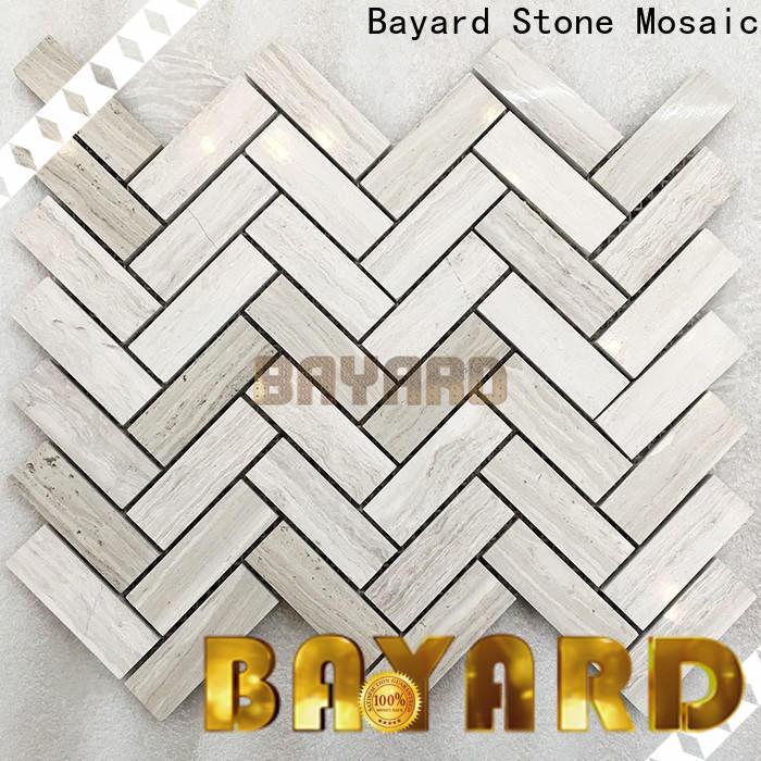 Bayard elegant stone mosaic for supermarket