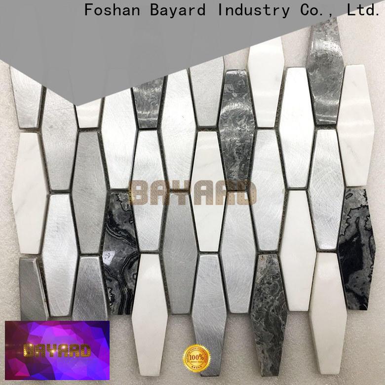 Bayard professional grey mosaic floor tiles newly for foundation
