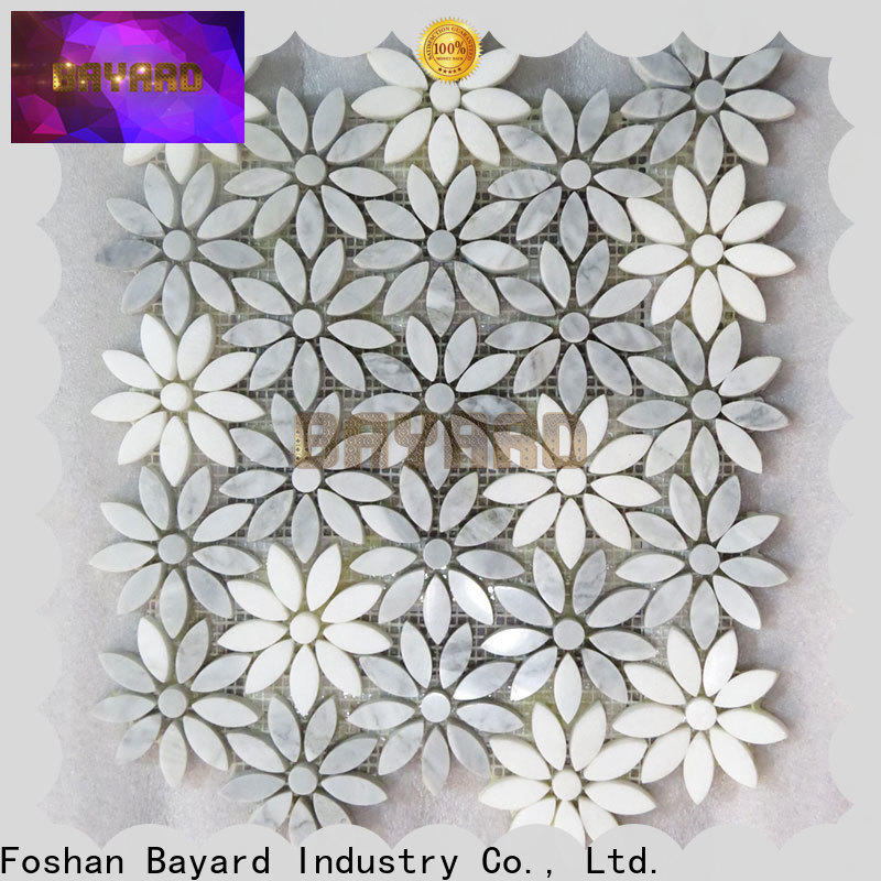 Bayard widely used gray mosaic tile in china