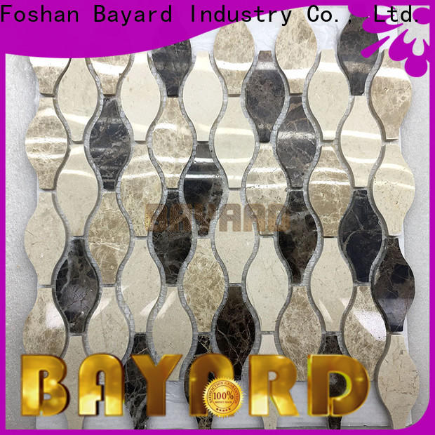 Bayard professional mosaic tiles craft factory for hotel lobby