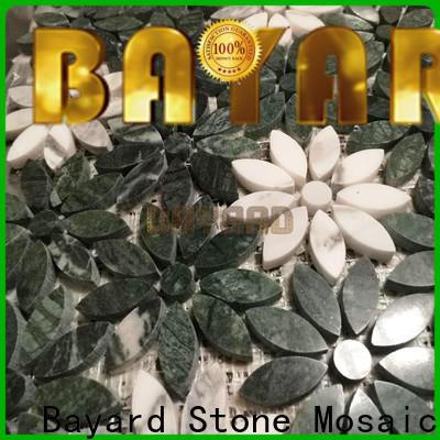 Bayard fashion design mosaic stones factory price for bathroom