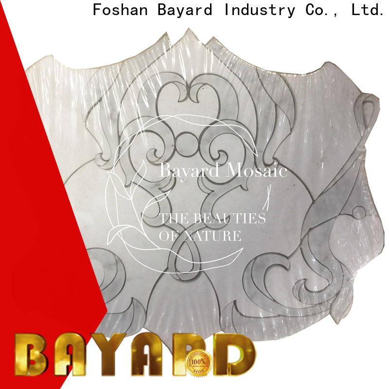 Bayard high standards waterjet mosaic tile order now for foundation