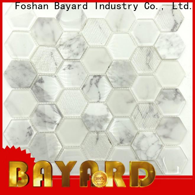 Bayard mosaic green glass mosaic tiles dropshipping for foundation