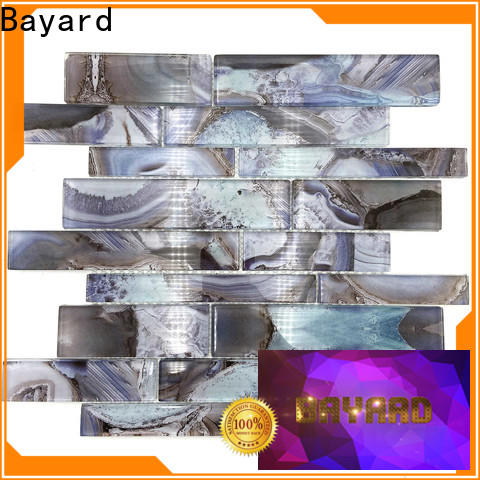 affordable glass mosaic tile backsplash mixed factory for foundation