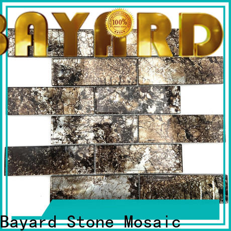 affordable white glass mosaic tile stone dropshipping for decoration