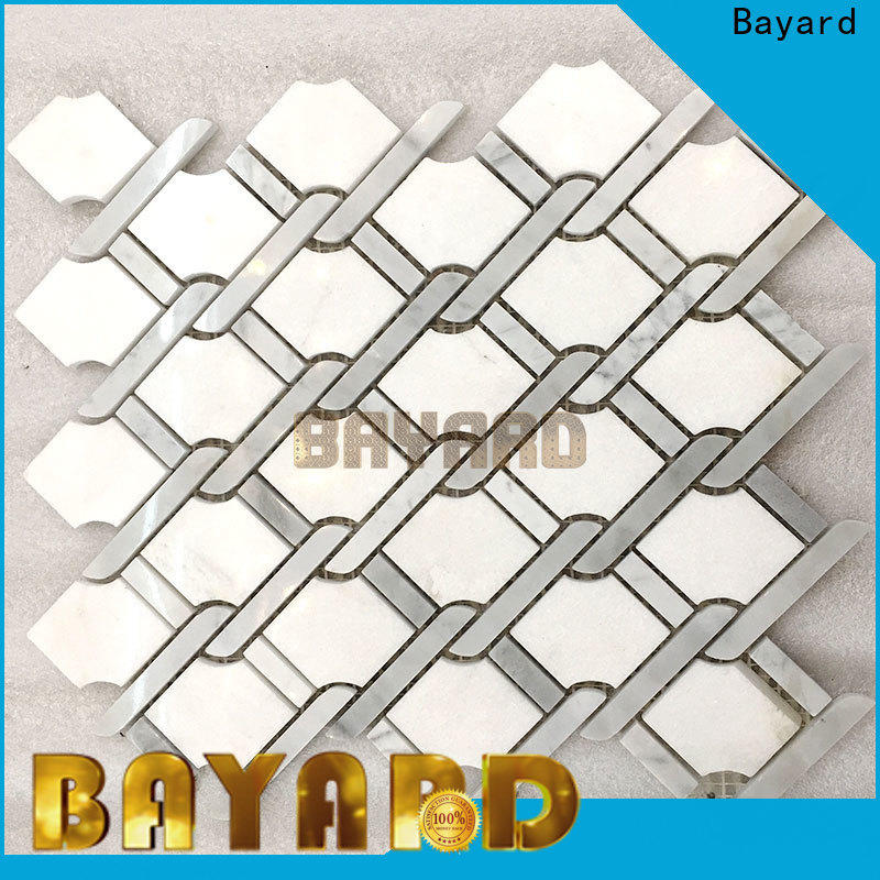 Bayard many marble mosaic floor tile order now for bathroom