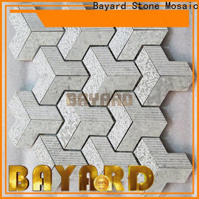 Bayard metal outdoor mosaic tiles vendor for foundation