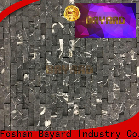 Bayard fashion design gray mosaic floor tile in different colors for bathroom