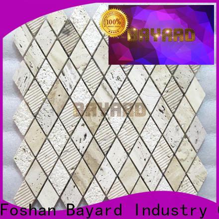 Bayard travertine travertine mosaic wall tile for decoration