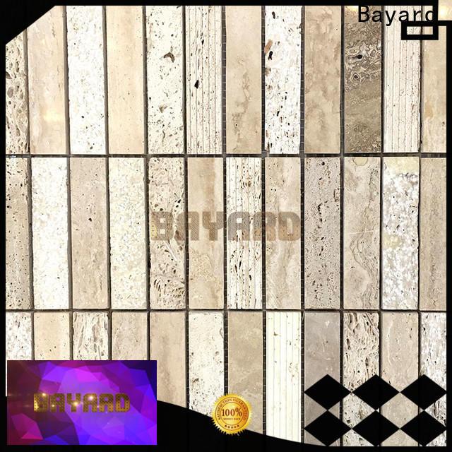 Bayard brick travertine mosaic wall tile factory for decoration