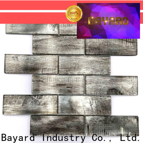 Bayard affordable iridescent glass mosaic tile for decoration