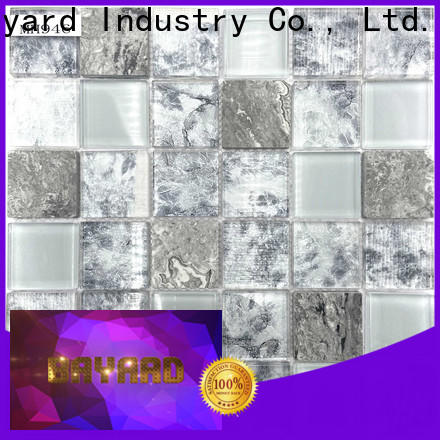 Bayard good-looking glass mosaic tile backsplash factory for bathroom