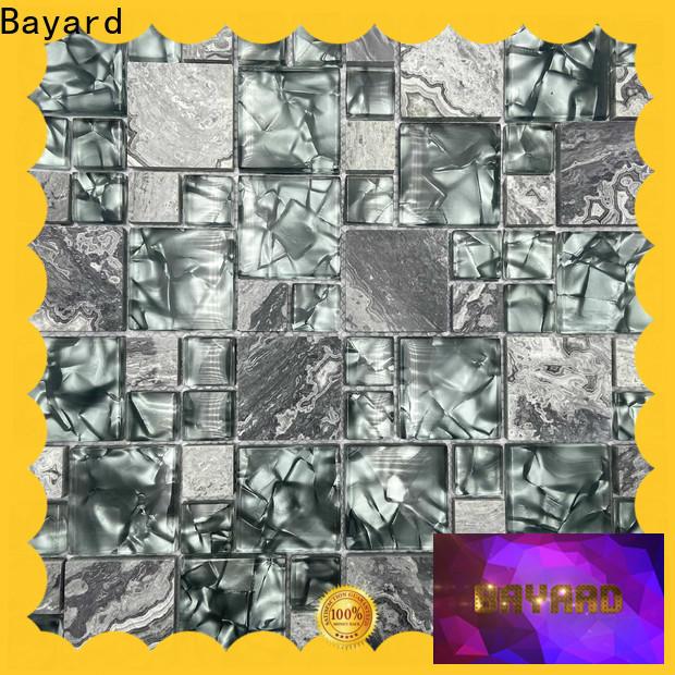 Bayard high standards sea glass mosaic tile dropshipping for hotel lobby