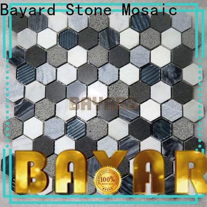 Bayard gray stone mosaic in china