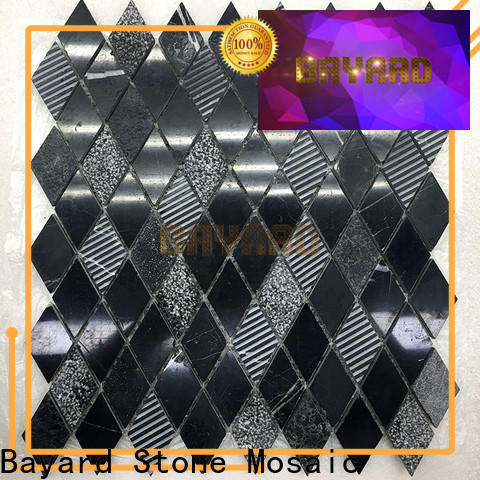 Bayard linear marble mosaics for bathroom