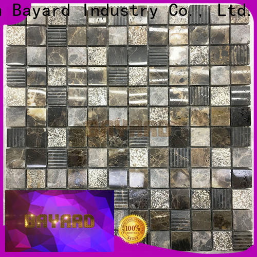 good-looking mosaic bathroom tiles brown factory for decoration